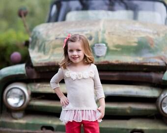 SAMPLE SALE - Lola Pants in Meadowsweet - Size 4