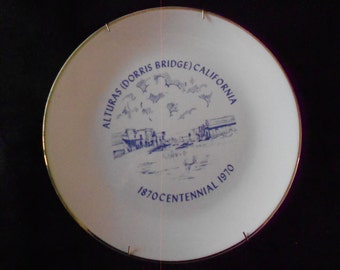 Wall Plate/Alturas CA/Dorris Bridge/Centennial/1970