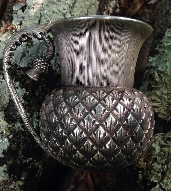 Iconic 1893 Scottish Sterling Silver Thistle Cup Edinburgh William Marshall III