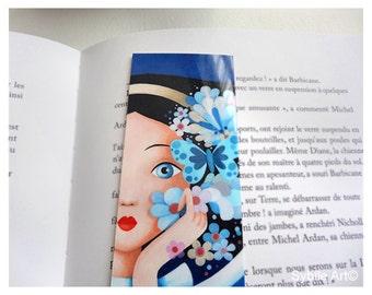Bookmark Nuit Bleu