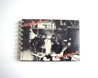 Rolling Stones Notebook / Vintage Exile on Main St. Recycled Notebook