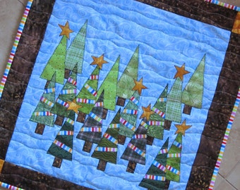 AUSTIN STYLE CHRISTMAS  from Quilts by Elena Keeping Austin Weird Wall Hanging Table Topper