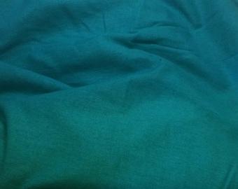 100% LINEN Fabric - TURQUOISE - 1 Yard