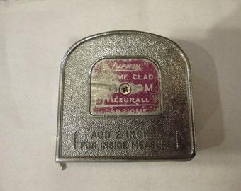 Vintage Lufkin Mezurall Tape Measure