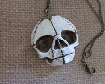 Lullaby -Baby skull necklace