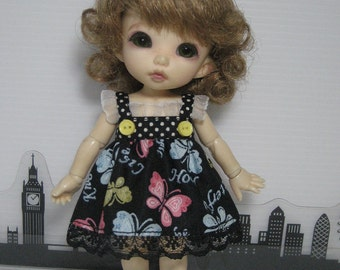 Butterfly Dress for Lati Yellow, Pukifee