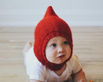Knit Gnome Hood
