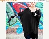 SALE 20% BABOOSHKA Long Sleeve Oversized Asymmetrical T-Shirt Dress (colors)