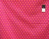 Kaffe Fassett GP70 Spot Fuchsia Cotton Fabric By The Yard