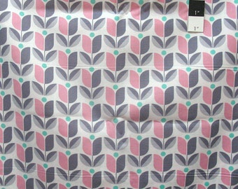 Joel Dewberry PWTC040 True Colors Tulip Gray Cotton Fabric By Yd