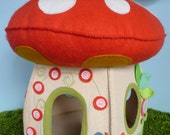 On Toadstool Lane - House Paper Pattern