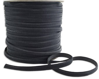 Three Yards Velvet Ribbon Trim Smoke Gray 1/4 Inch Wide VR200-SMKG