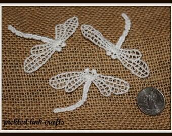 Venise Applique Dragonflies