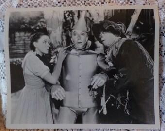 Wizard of Oz Photos Vintage Black and White Wizard of Oz Photos Set of Three