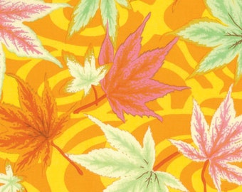 Kaffe Fassett Maple Stream Yellow Ochre Phillip Jacobs Fabric 1 yard