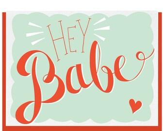 Hey Babe! - Greeting