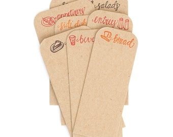 Letterpress Recipe *Dividers Only*