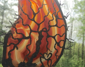 NEVER FORGET ~ Tree of Life Elephant Agate