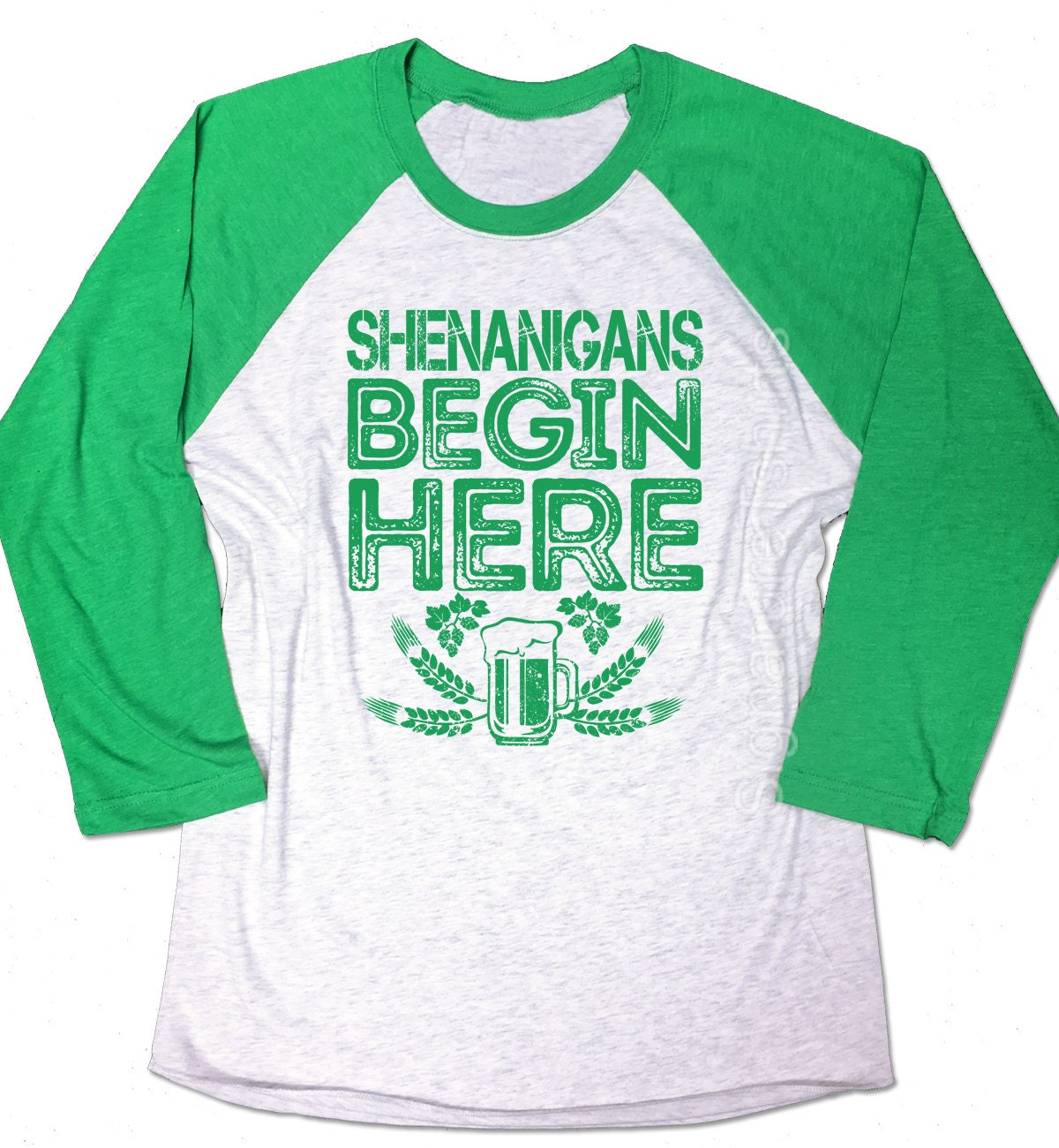Design your own t shirt dublin - Shenanigans Begin Here Shirt Shenanigans Shirt Funny Mens Irish T Shirt St Patricks Day Shirt Unisex Baseball Shirt St Paddys Tee Shirt