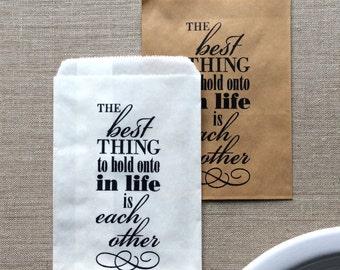 20 White or Kraft Wedding Favor Bags, wedding paper bags, annieversary favors, wedding favors, anniversary favor bags, wedding packaging