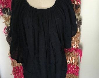 Vintage gauze gypsy top