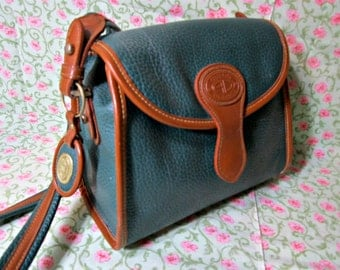 Pebble Leather Cross Body Austin Designs Purse / Shoulder Crossbody  Bag