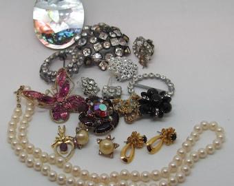 Vintage Costume Jewelry Bundle