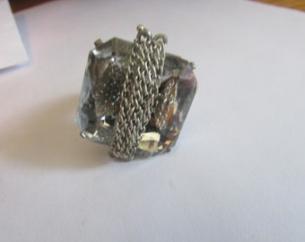 shiny gem and chain ring