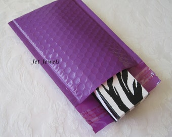 10 Bubble Mailers, Purple Mailers, Shipping Envelopes, Padded Envelopes, Padded Mailers, Shipping Supply, Mailer, Self Sealing 6x9