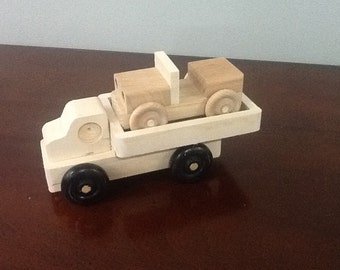 Wooden Trucks Handcrafted jeep