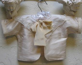 Infant Newborn Silk Girl Jacket