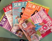 Destash - Sew It All Magazines - Set of 5
