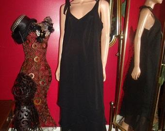 Vintage Dress Flapper G.Gatsby  does 20-30s Theme Size 14
