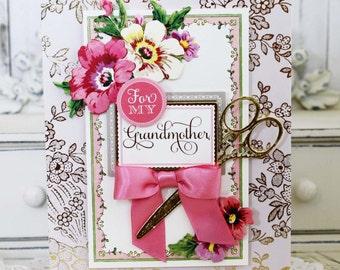 Grandmother...Handmade Card