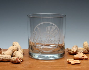 Engraved Sports Whiskey OTR Glass.