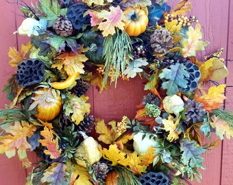 Fall Door Wreath....