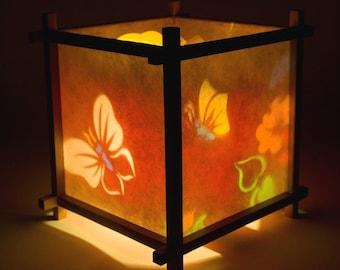 Butterfly & Flowers Harmony Lantern