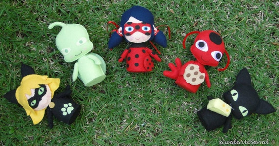 Cute Miraculous Inspired - PDF Pattern - Ladybug & Cat ...