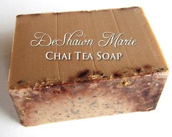 SALE SOAP- Chai Tea Soap - Vegan Soap - Handmade Soap - Spiced Soap- Soap Gift