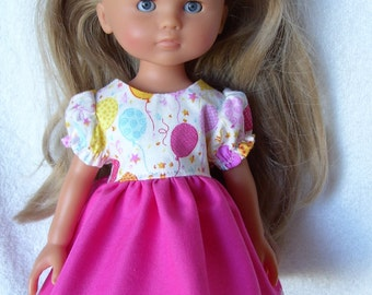 Corolle Les Cheries Doll Clothes, Party Dress and Panties, fit 13inch 14inch Dolls,Little Darling