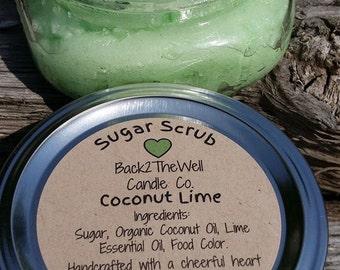 Sugar Scrub Coconut Lime