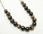 Vintage Sterling Bead Chain Necklace Add A Bead N6943