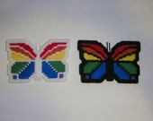 Rainbow Butterfly Magnets