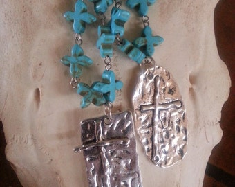 Western Crosses necklace