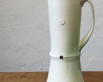 SALE-Pitcher - White and Light Green (originally 85.00)