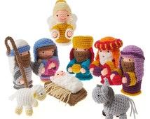 40% OFF Crochet Amigurumi Christmas Holiday Nativity  pdf Pattern