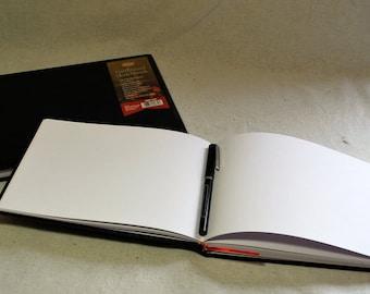 Large Horizontal Hardback Sketchbook Refills for Refillable Sketchbook Covers