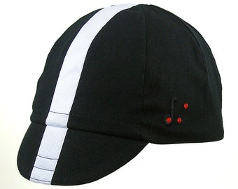 Clearance Sale: Nero Bianco Cycling Cap