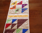 """Birds in the Air table runner, 12""""x44"""""""