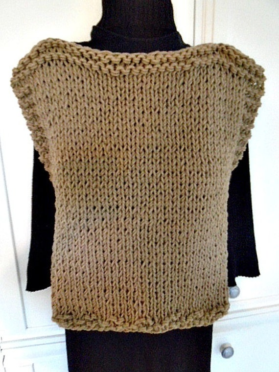 Knitting A Sweater Without A Pattern : Knitting pattern knit outdoor poncho sweater
